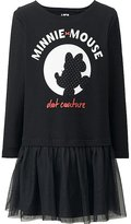 Uniqlo Girls Disney Collection Long Sleeve Tulle Dress