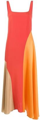 Chinti and Parker Panelled Sleeveless Maxi Dress