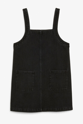 Monki Denim mini dress