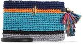 Juicy Couture Coastline Stripe Zip Top Crossbody