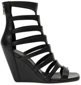 Rick Owens gladiator wedge sandals