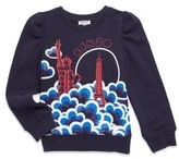 Kenzo Toddler's, Little Girl's & Girl's Printed Cotton Sweatshirt