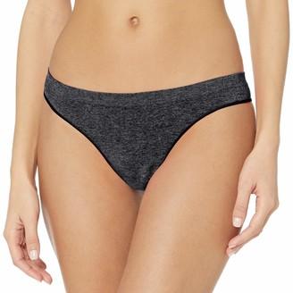 B.Tempt'd Women's B. Splendid Thong Panty - grey - Large