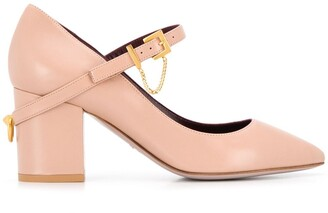 Valentino Chain Embellished Pumps
