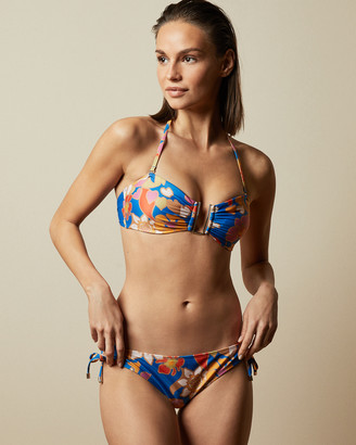Ted Baker ADELYA Pinata ruched bikini bottoms
