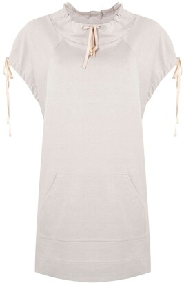 Shanshan Ruan Drawstring Sleeve Top