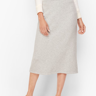 Talbots Luxe Knit Long Pencil Skirt