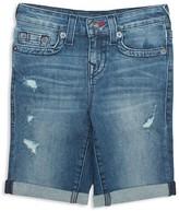 True Religion Boys' Geno Super T Jean Shorts