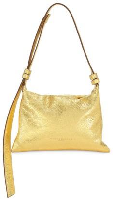 Simon Miller Mini Puffin Metallic Leather Shoulder Bag