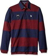 U.S. Polo Assn. Men's Heavy Weight Jersey Classic Rugby Shirt
