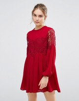 Endless Rose Lace Long Sleeve Dress