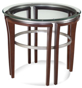 Bassett Mirror Fusion Round End Table