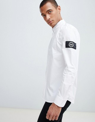 Hype shirt in white with arm logo
