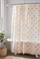 Urban Outfitters Sun Icon PEVA Shower Curtain