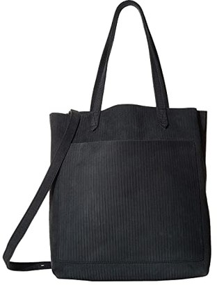 Madewell The Medium Transport Tote (Midnight Spruce) Tote Handbags