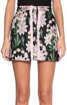 Au Jour Le Jour Jacquard Ruffled Skirt
