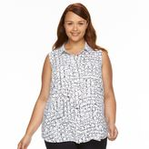 Apt. 9 Plus Size Blouse Tank Top