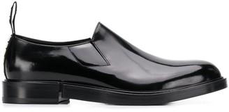 Dolce & Gabbana Logo Pull Tab Slippers