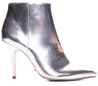 Schutz Silver Ankle Boot