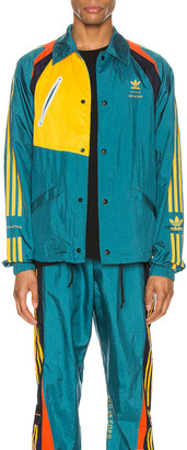 adidas x Bed J.W. Ford Bench Jacket in Rich Green | FWRD