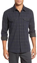 Billy Reid Graham Trim Fit Windowpane Sport Shirt