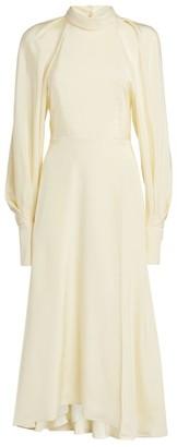 Victoria Beckham Bell-Sleeve Dress