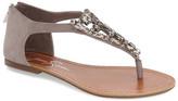 Jessica Simpson &Kallel& Embellished Flat Sandal (Women)