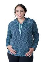 Soybu Plus Size Betty Space-Dye Hoodie