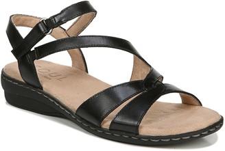 Naturalizer Soul Leather Strappy Slingback Sandals - Bobbie