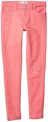 Levi's(r) Kids 710 Color Jeans (Big Kids) (White) Girl's Jeans