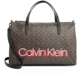 Calvin Klein Mono Brown Handbag
