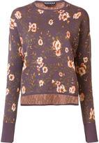 Rochas floral print jumper