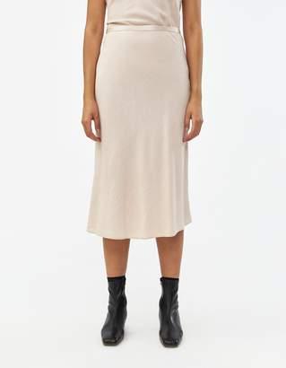 Stelen A-Line Skirt in Buff