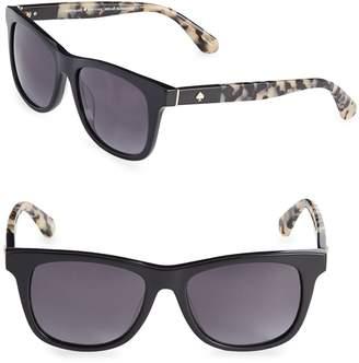 Kate Spade Charmine 52MM Wayfarer Sunglasses