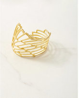 Express house of harlow gold cuff bracelet
