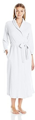 Casual Moments Women's 50 Inch Waffle Wrap Robe