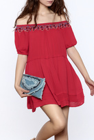 Umgee USA Red Swing Dress