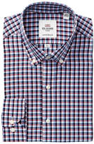 Ben Sherman Floral Check Camden Tailored Skinny Fit Dress Shirt