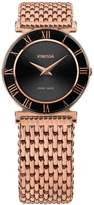 Jowissa Women's Roma 31mm Rose Gold-Tone Steel Bracelet Quartz Watch J2.229.m