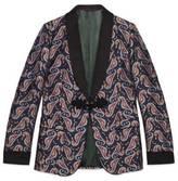 Gucci Seahorse jacquard evening jacket