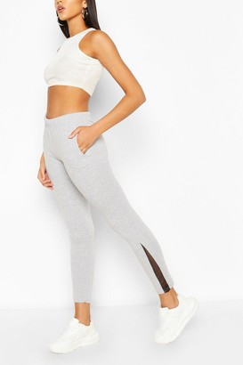boohoo Slim Fit Mesh Detail Jogger