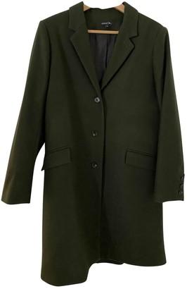 soeur Khaki Wool Coats