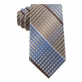 Van Heusen Multi-Line Plaid Silk Tie