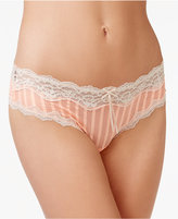 HEIDI-by-Heidi-Klum Heidi by Heidi Klum Mesh and Lace Striped Cheeky Hipster H309-1181B, Only at Macy's