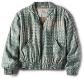 Acacia Swimwear Honey NY Bomber Jacket in Mint. - size L (also in M,S,XS)