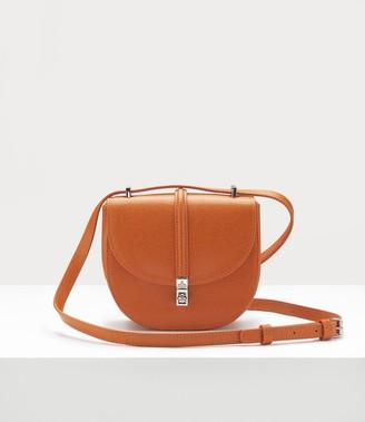 Vivienne Westwood Sofia Mini Saddle Bag Orange