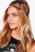 boohoo Ellie Aztec Elasticated Headband