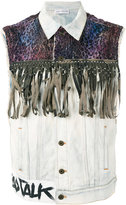 Faith Connexion fringed denim vest