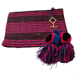 Yosuzi Multicolour Cotton Clutch bags