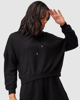 Cotton On Women's Black Hoodies - Your Favourite Hoodie - Size XS at The Iconic
